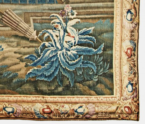 """Tapestry  - A Louis XV Aubusson Chinoiserie Tapestry from the series """"Tenture Chinoise"""""""