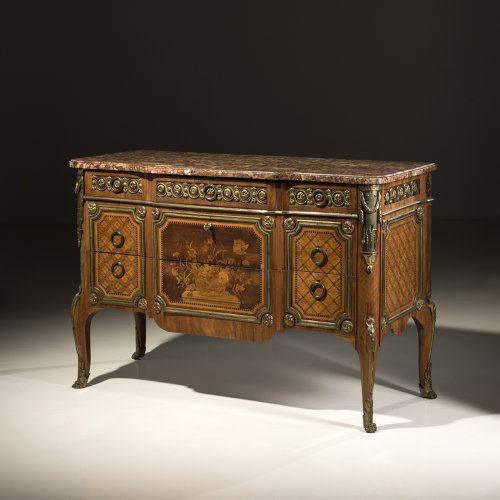 Furniture  - A Louis XV - Louis XVI Transitional Commode by RVLC