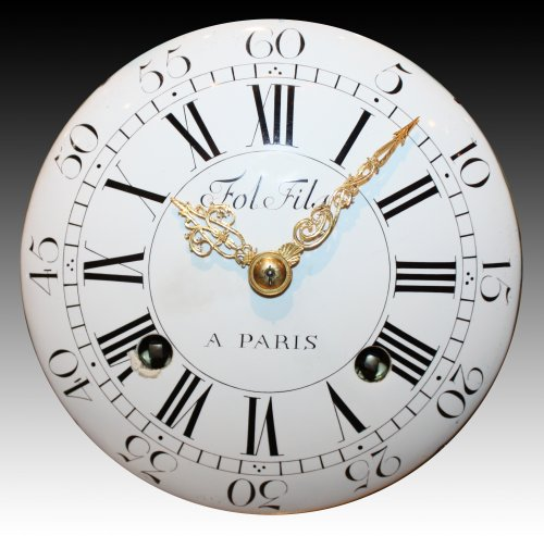 A Louis XV ormolu-bronze Mantel Clock  representing the Rape of Europa - Clocks Style Louis XV