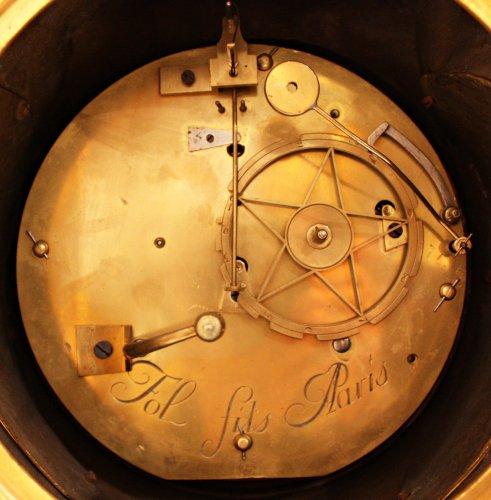 A Louis XV ormolu-bronze Mantel Clock  representing the Rape of Europa -