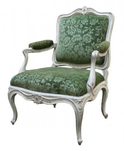 A set of four Louis XV Fauteuils à la Reine