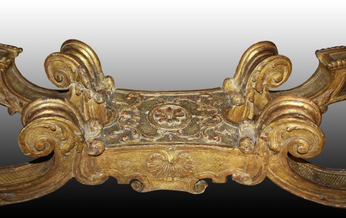 18th century - An Important Regence giltwood Console Table