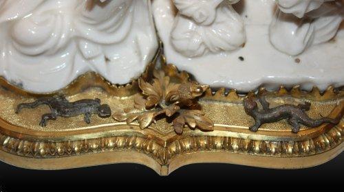 A Louis XV three-light Candelabra circa 1745-1750 -
