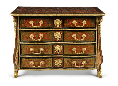 "Furniture  - A Louis XIV ""Boulle"" marquetry Commode attributed to Nicolas Sageot"