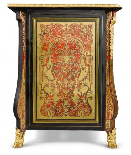 "18th century - A Louis XIV ""Boulle"" marquetry Commode attributed to Nicolas Sageot"