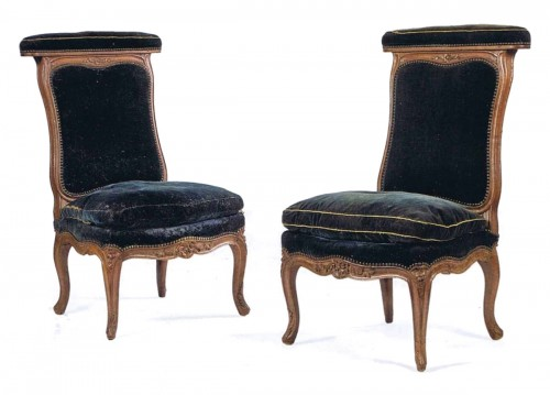 A pair of Louis XV Ponteuses