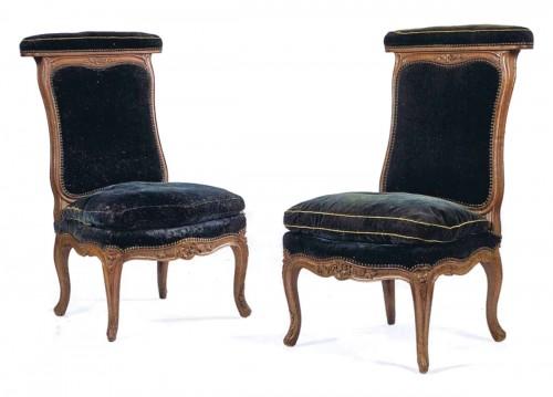 A pair of Louis XV Ponteuses