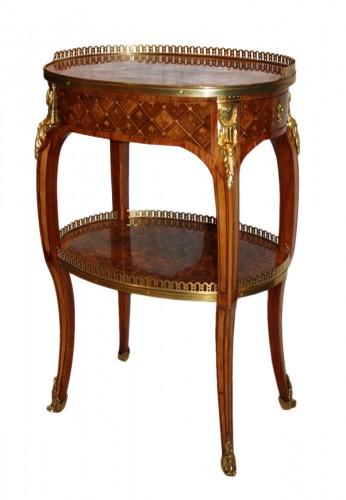 A Transitional Louis XV / Louis XVI  Table en Chiffonnière