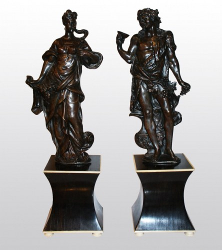 Bacchus and Amphitrite - Sculpture Style
