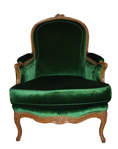 Seating  -  A pair of Louis XV Bergères