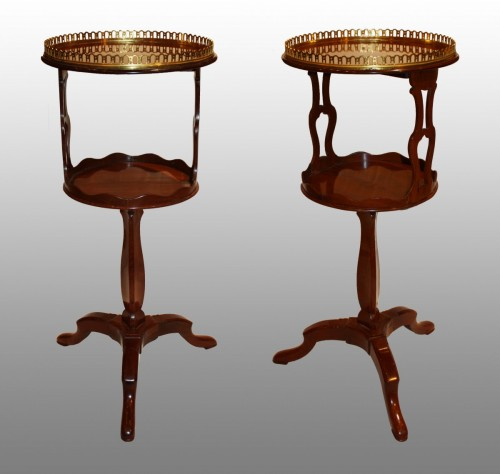 18th century - A pair of Louis XVI Gueridons