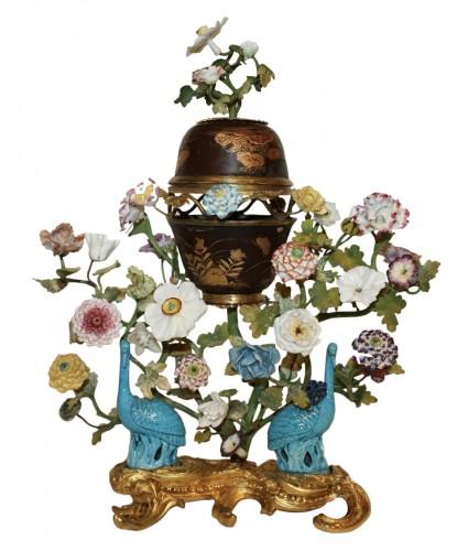 A Louis XV ormolu-mounted  Brûle-Parfum