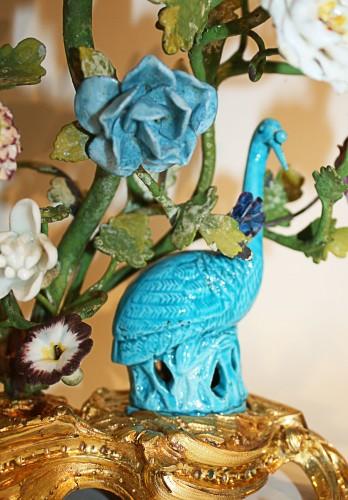 Decorative Objects  - A Louis XV ormolu-mounted  Brûle-Parfum