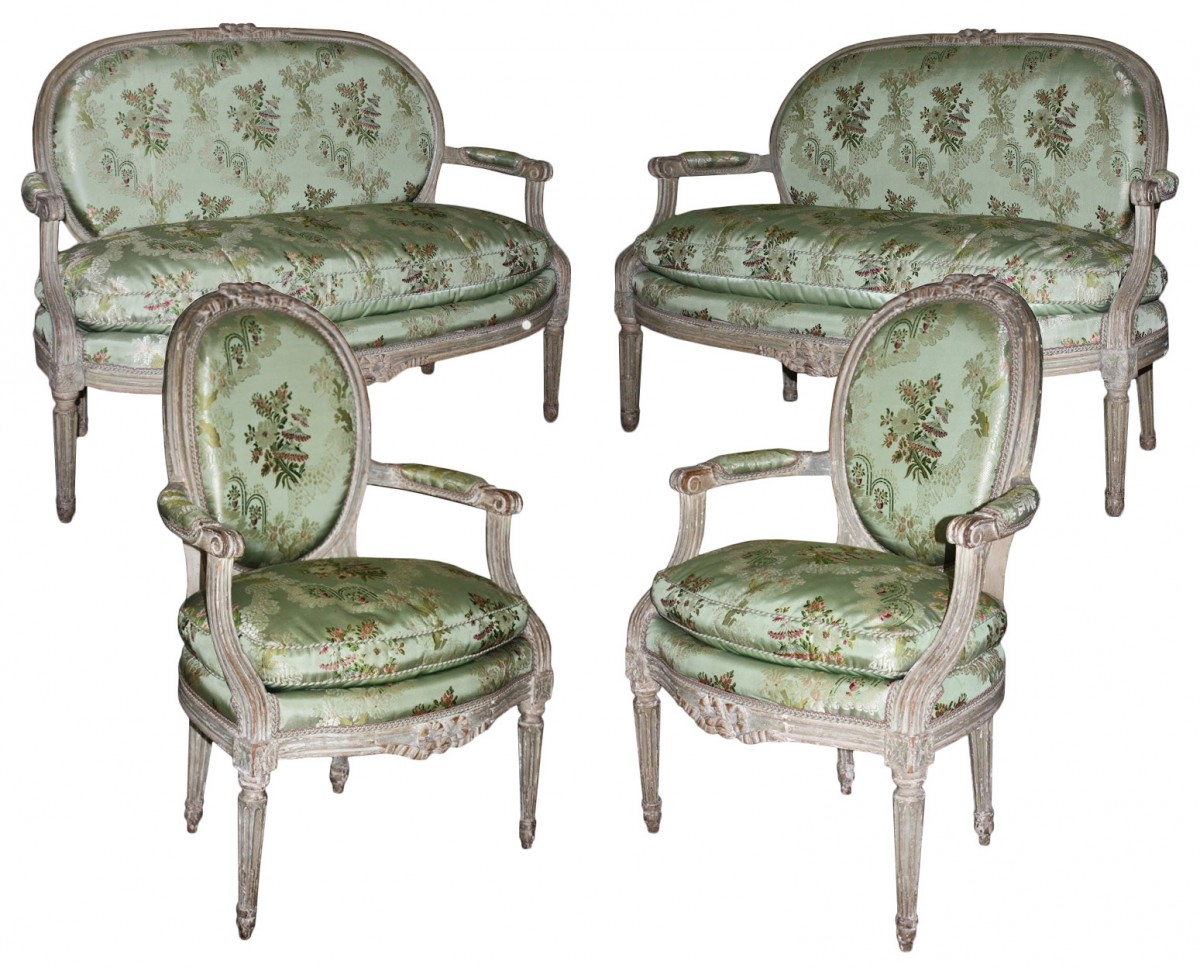 A louis xvi salon suite - Salon louis xvi ...