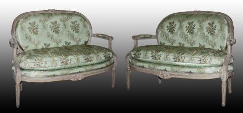 A Louis XVI Salon Suite - Seating Style Louis XVI