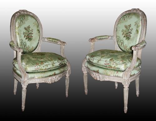 A Louis XVI Salon Suite -