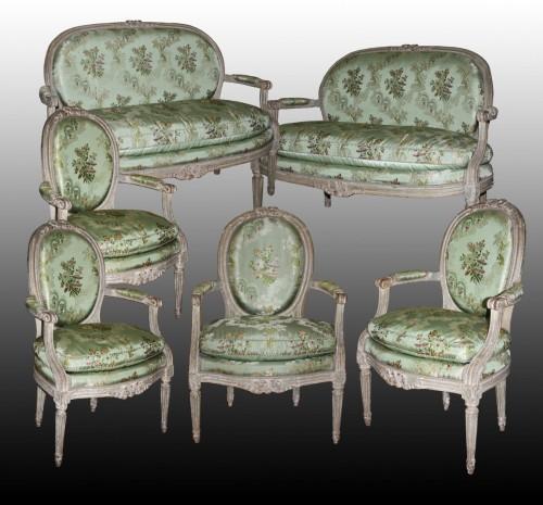 A Louis XVI Salon Suite - Louis XVI