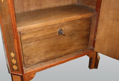 Fine secretaire à abattant by Pierre Pioniez - Furniture Style Louis XVI