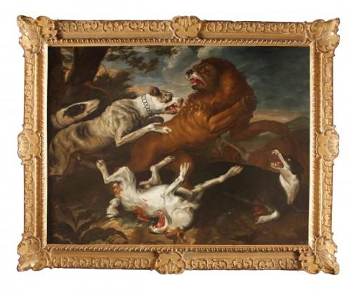 A large painting by Paul de Vos (circa 1596 - 1678)