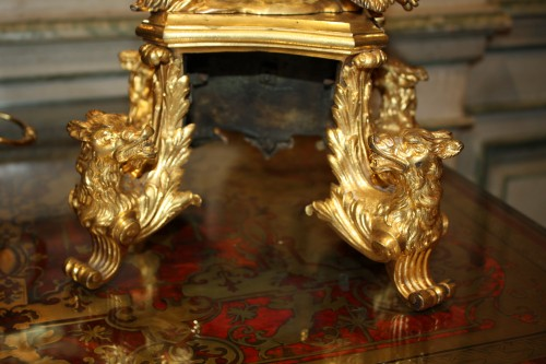 Pair of 18th century ormolu Chenets  -