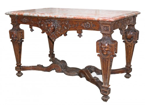 A Louis XIV oak-wood Table