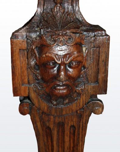 A Louis XIV oak-wood Table   - Furniture Style Louis XIV