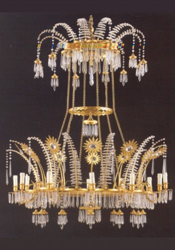 A large Russian 18th century Chandelier