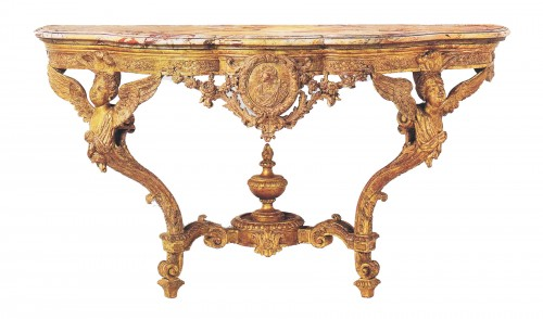 A Regence giltwood Console Table