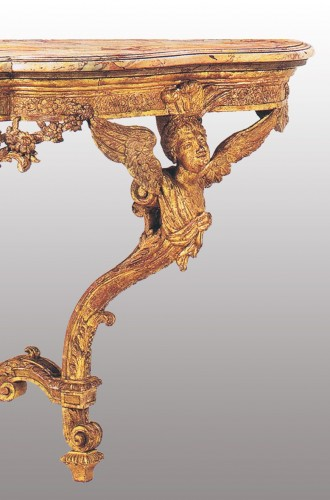 18th century - A Regence giltwood Console Table