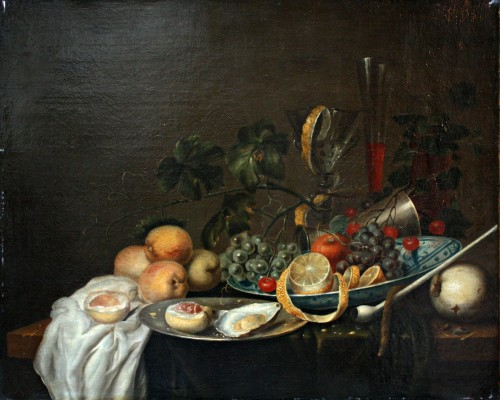 Nature Morte au citron, Cercle de Jan Davidsz de Heem