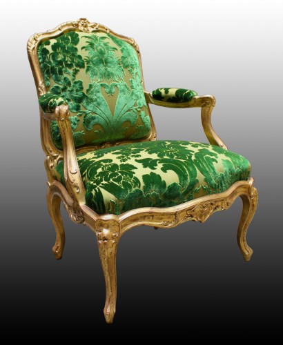 Seating  - A set of four Fauteuils à Châssis attributed to Louis Cresson