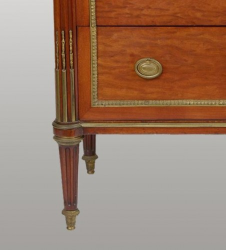 """Furniture  - Small """"framed"""" Entre-Deux commode by Louis Moreau"""