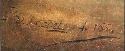 Large hunting composition - Pieter van Noort (1622-1672) - Paintings & Drawings Style