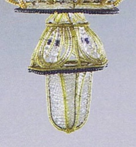 "20th century - Exceptional pair of  ""à la Montgolfière"" Chandeliers"