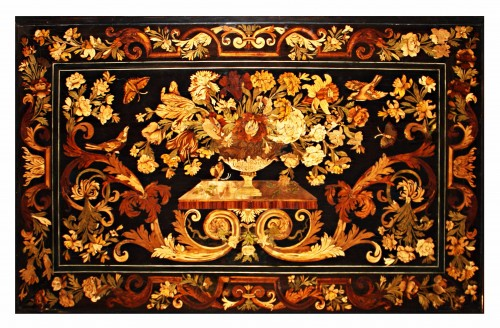 "Furniture  - A Louis XIV Table de Milieu ""aux Cariatides"" attributed to Pierre Gole"
