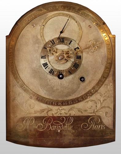 Antiquités - Parquet Regulator by Jacques-Nicolas Baradelle in Paris