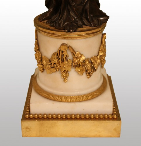 """A pair of Louis XVI Candelabra """"aux Vestales"""" - Louis XVI"""