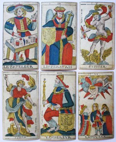 Curiosities  - Besançon Tarot by Jacob Jerger