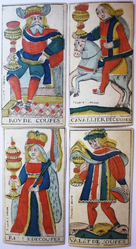 19th century - Besançon Tarot by Jacob Jerger