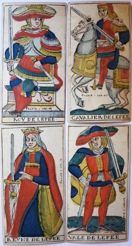 Besançon Tarot by Jacob Jerger -