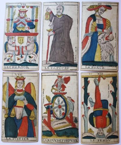 Antiquités - Besançon Tarot by Jacob Jerger