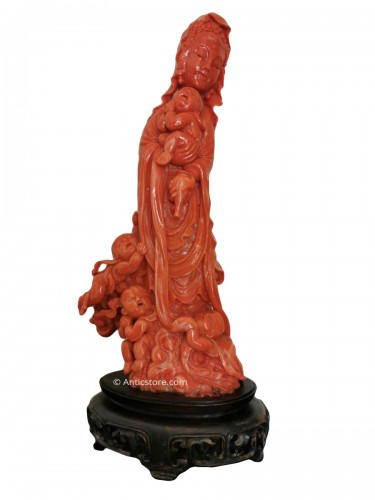 Red Coral Group - China Late 19th Century