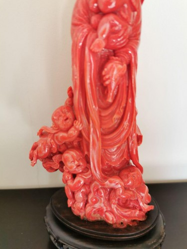 Red Coral Group - China Late 19th Century  -