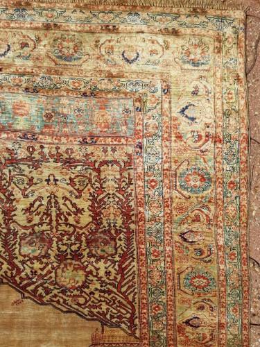 Tapestry & Carpet  - Tabriz Aldjajhiji carpet In Silk - Iran XIX
