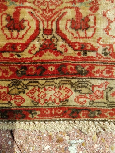 19th century - Tabriz Aldjajhiji carpet In Silk - Iran XIX