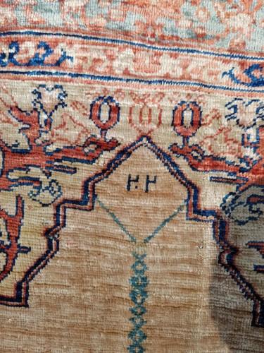 Tabriz Aldjajhiji carpet In Silk - Iran XIX -