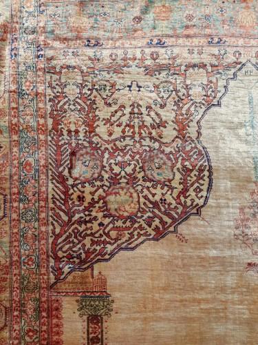 - Tabriz Aldjajhiji carpet In Silk - Iran XIX