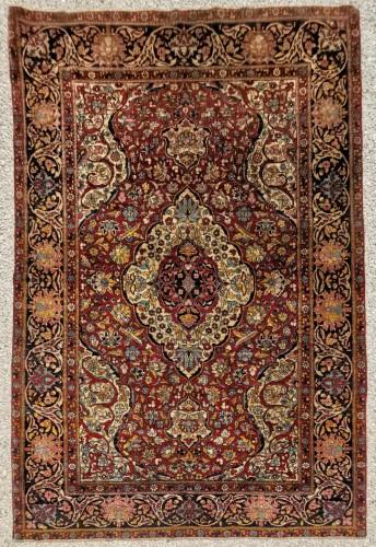 Kork Wool carpet - Teheran - Iran Late 19th