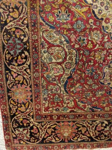Kork Wool carpet - Teheran - Iran Late 19th - Tapestry & Carpet Style