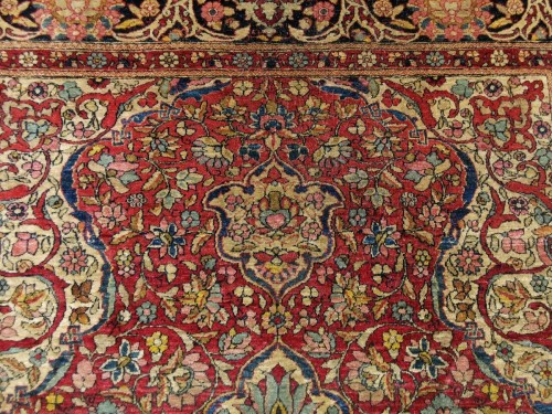 Tapestry & Carpet  - Kork Wool carpet - Teheran - Iran Late 19th